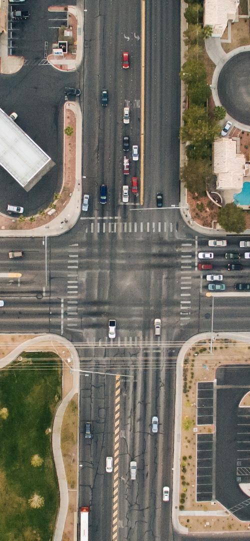 iPhone桌布下載:空拍街景圖2